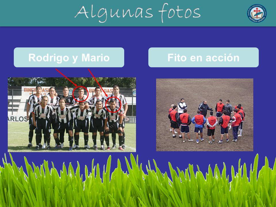Algunas fotos Rodrigo y Mario Fito en acción