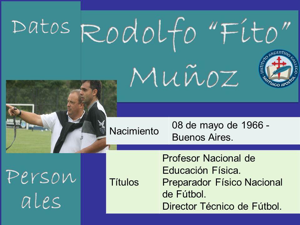 Rodolfo Fito Muñoz Datos Personales Nacimiento