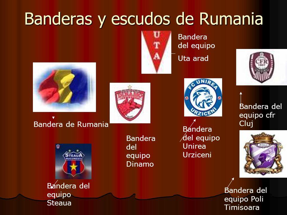 Banderas y escudos de Rumania