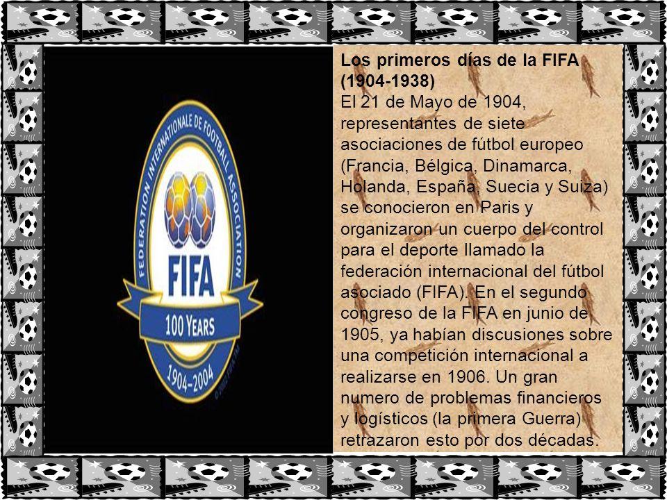 Los primeros días de la FIFA (1904-1938)