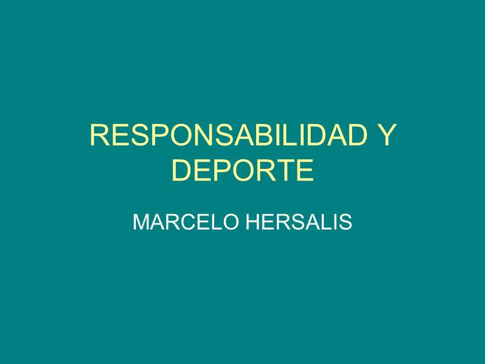 RESPONSABILIDAD Y DEPORTE