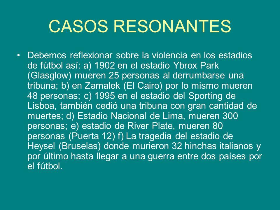 CASOS RESONANTES