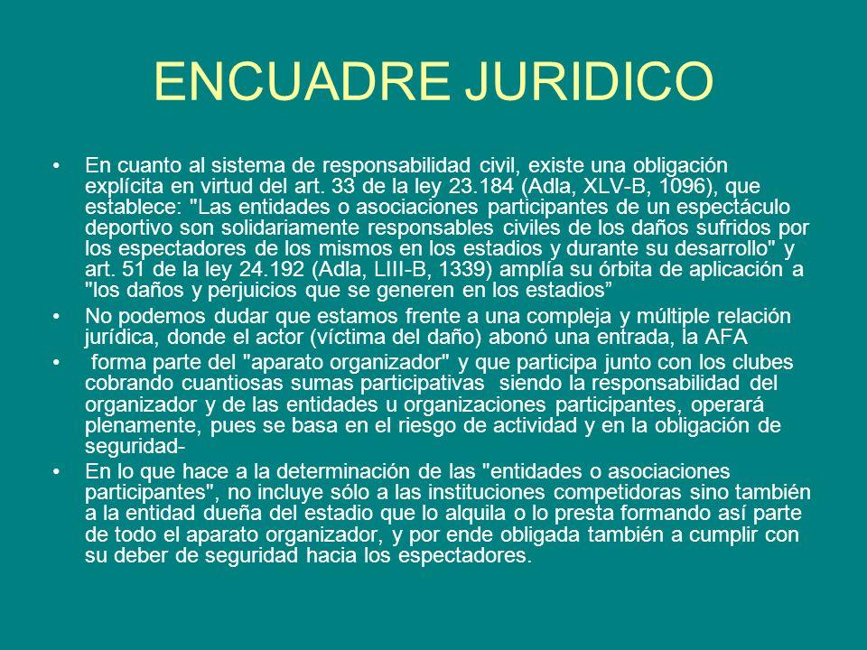 ENCUADRE JURIDICO
