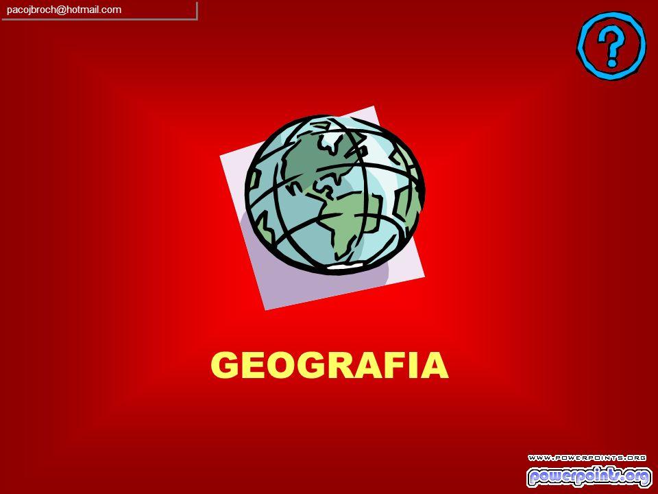 pacojbroch@hotmail.com GEOGRAFIA