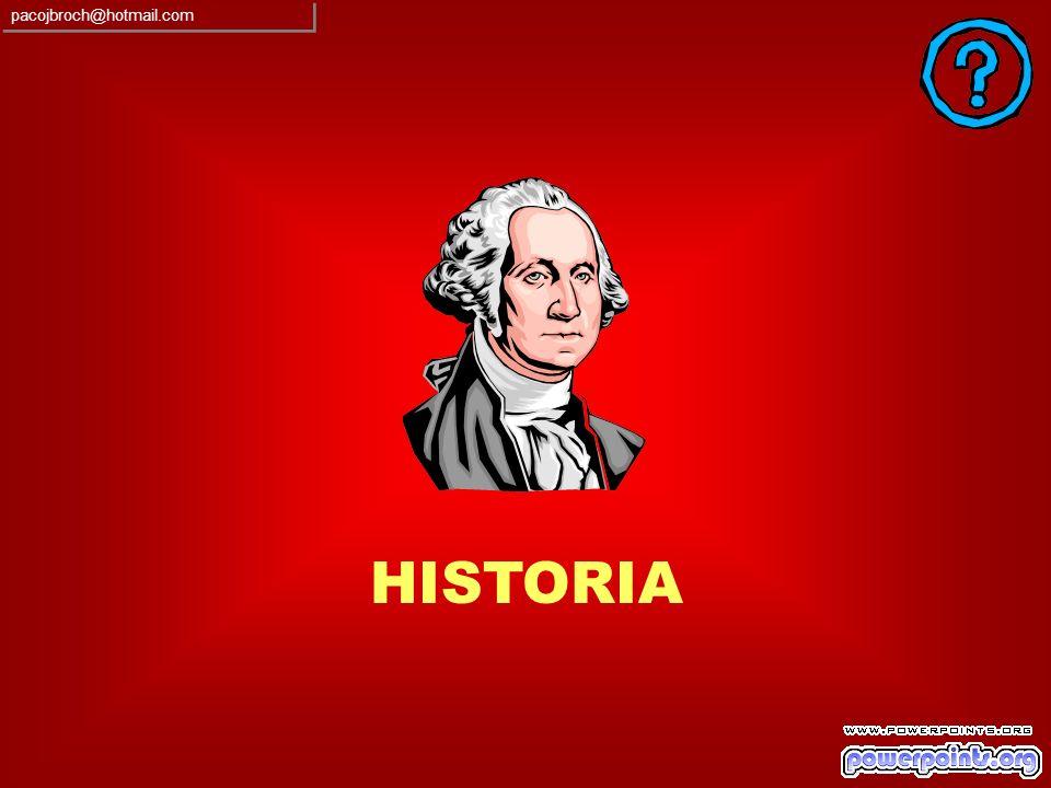 pacojbroch@hotmail.com HISTORIA