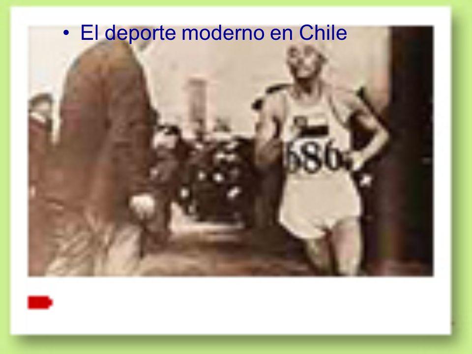 El deporte moderno en Chile