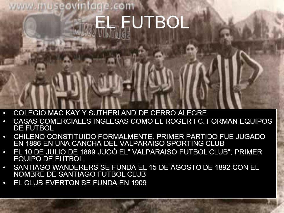 EL FUTBOL COLEGIO MAC KAY Y SUTHERLAND DE CERRO ALEGRE