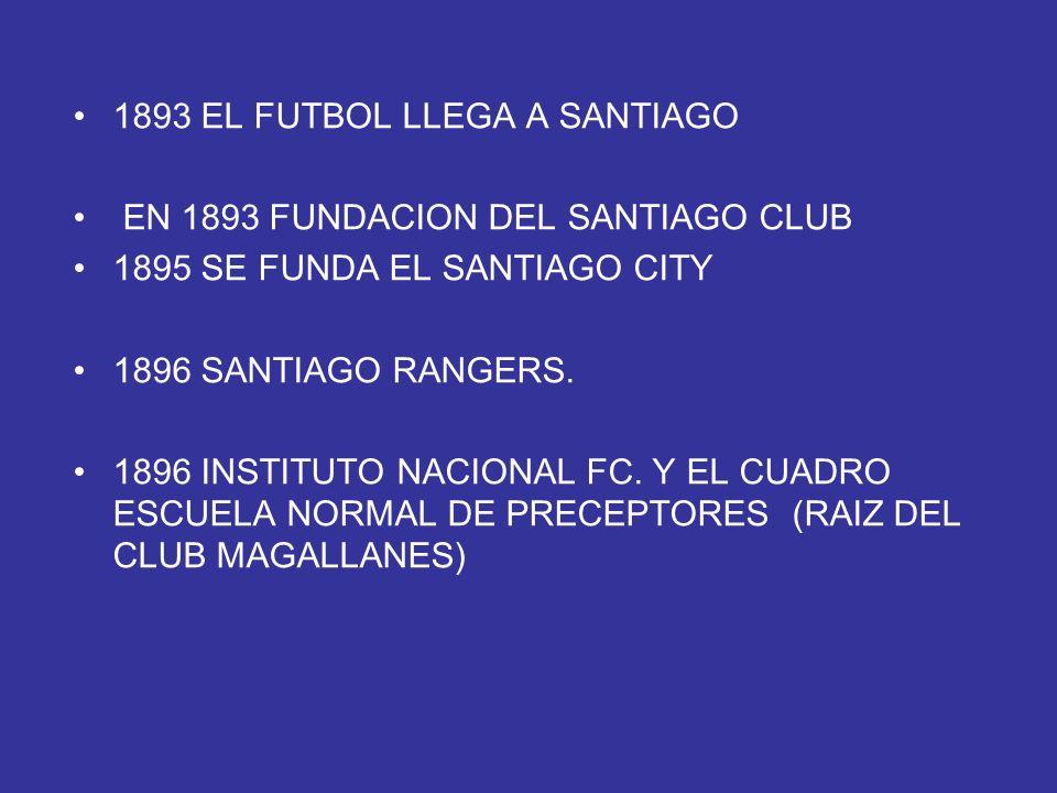 1893 EL FUTBOL LLEGA A SANTIAGO