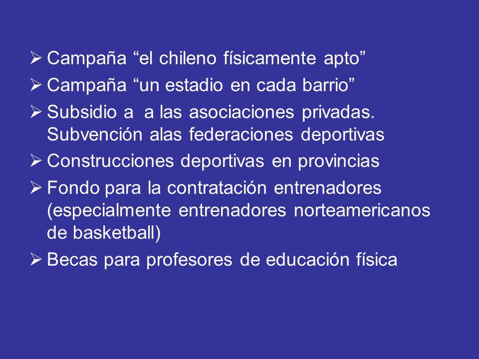 Campaña el chileno físicamente apto