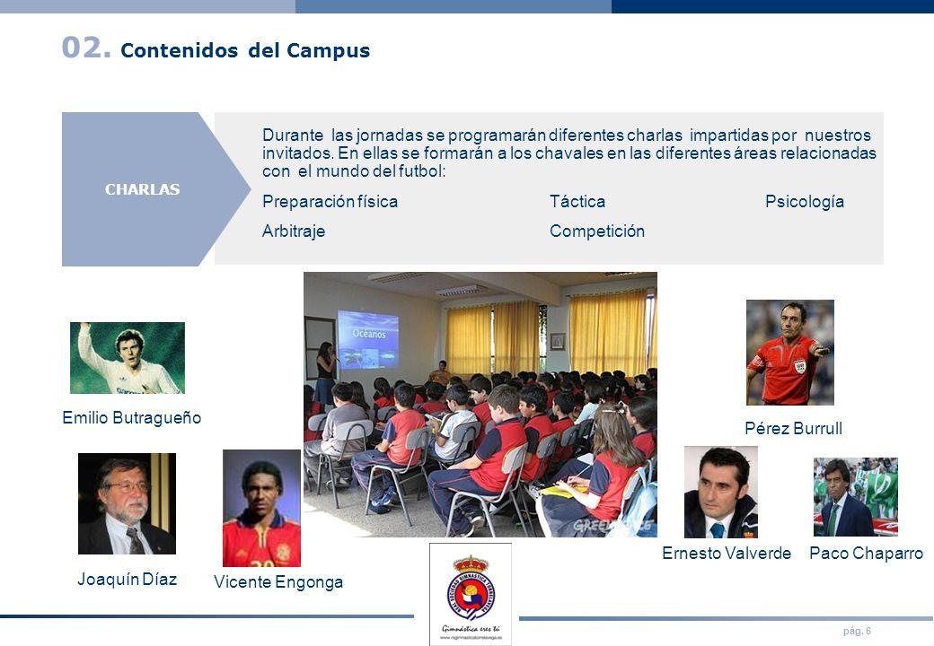 02. Contenidos del Campus VISITAS. JORNADA DEPORTIVA.
