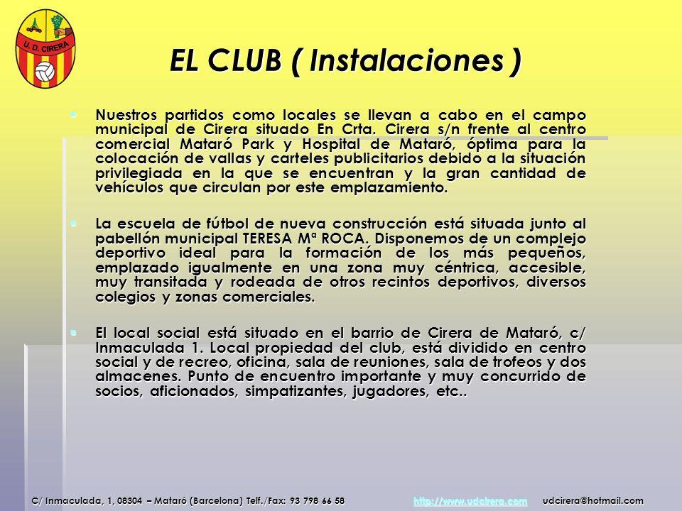 EL CLUB ( Instalaciones )