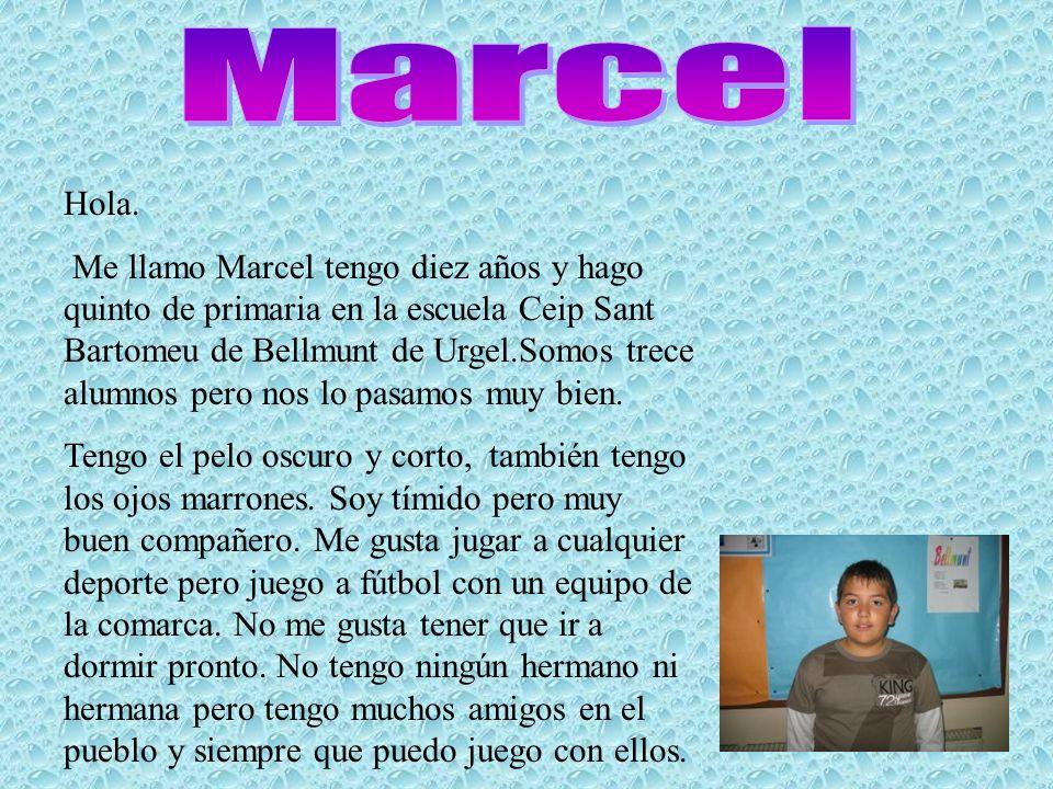 Marcel Hola.