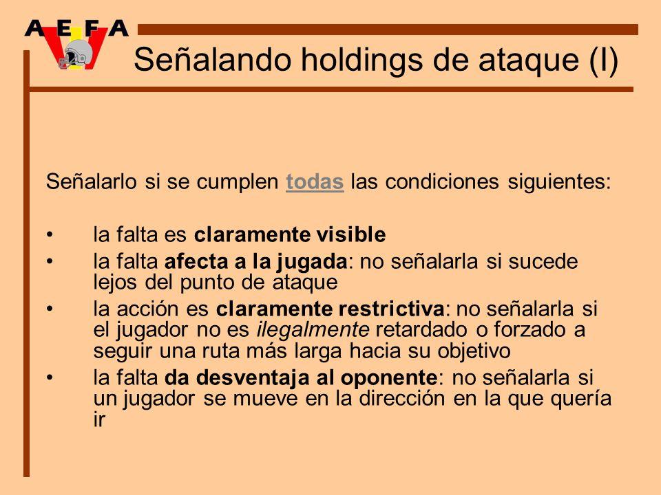 Señalando holdings de ataque (I)