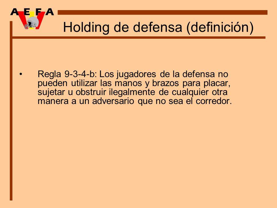 Holding de defensa (definición)