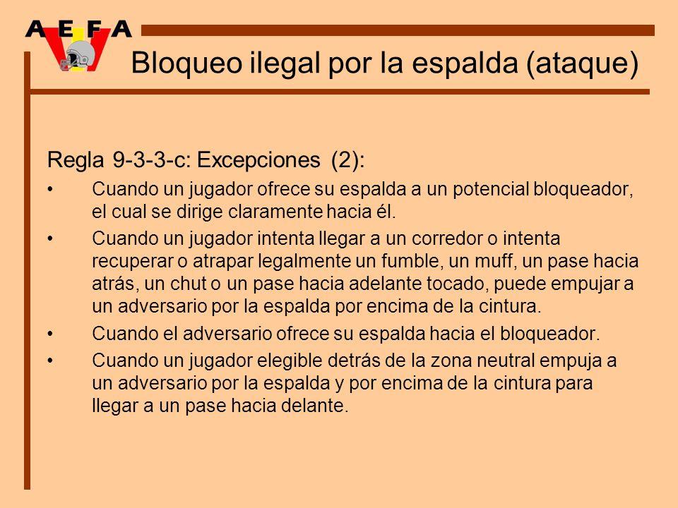 Bloqueo ilegal por la espalda (ataque)