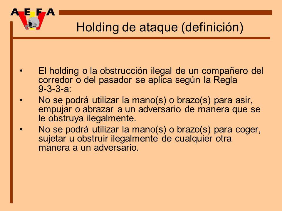 Holding de ataque (definición)