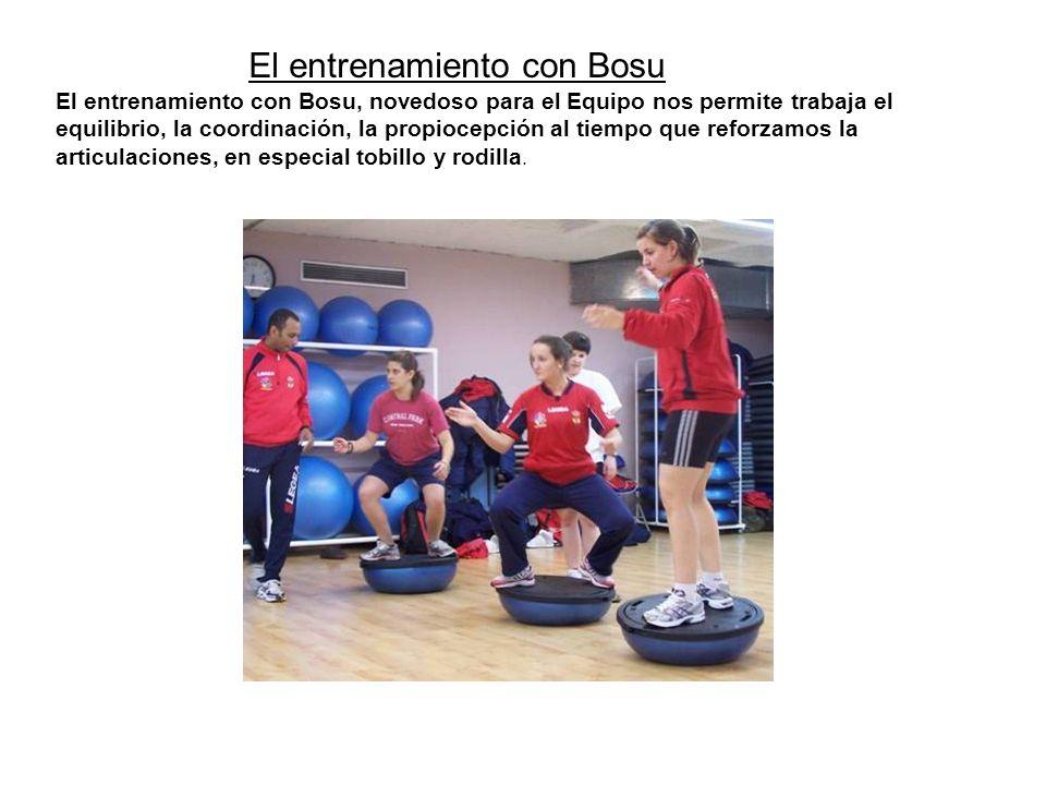 El entrenamiento con Bosu