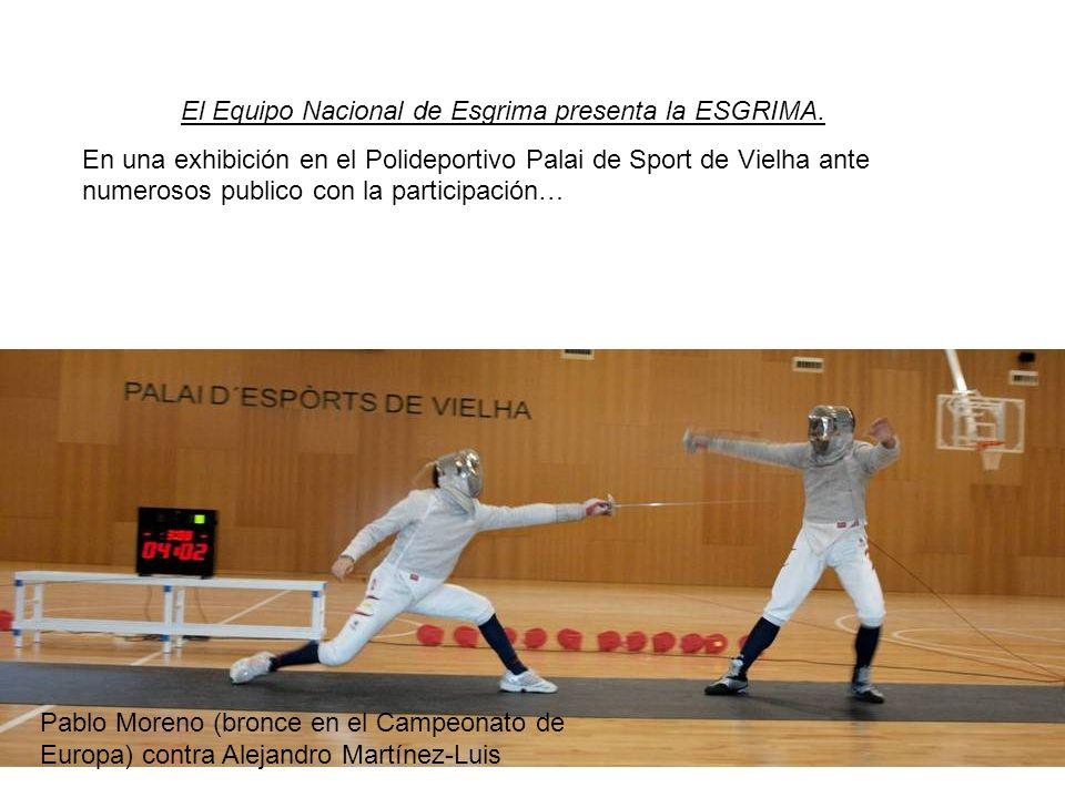El Equipo Nacional de Esgrima presenta la ESGRIMA.