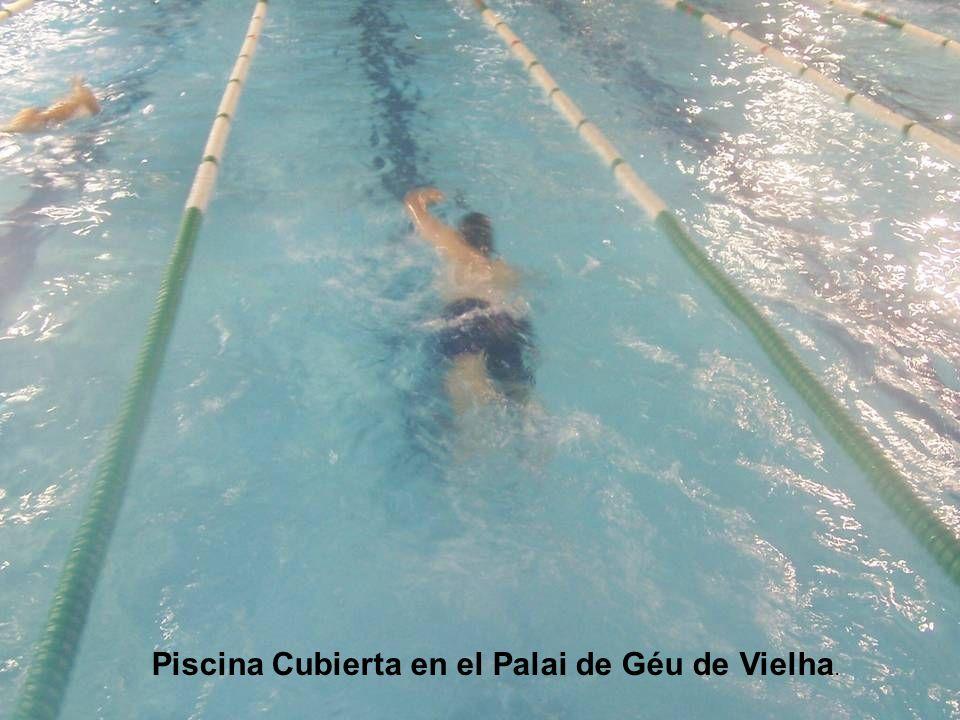Piscina Cubierta en el Palai de Géu de Vielha.
