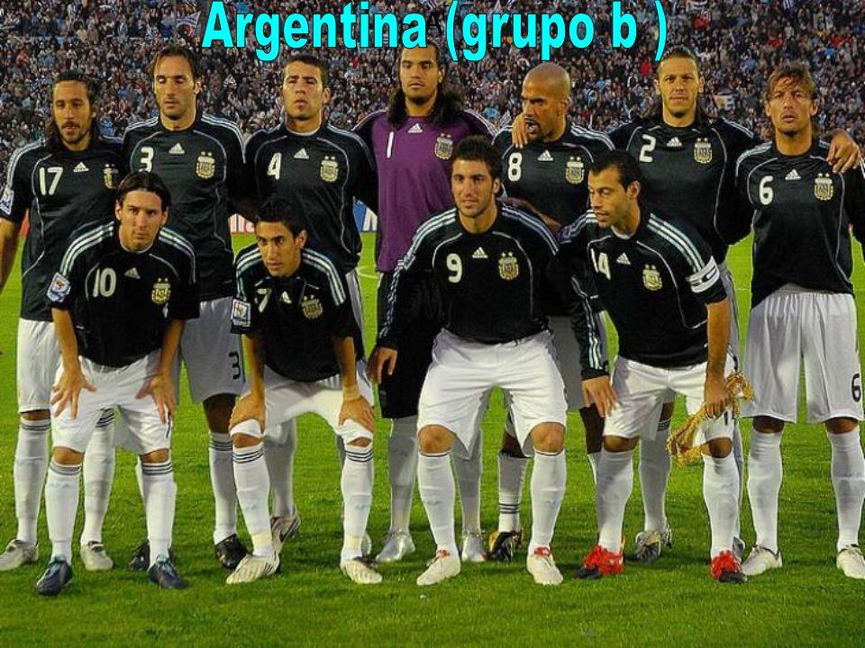 A Argentina (grupo b )