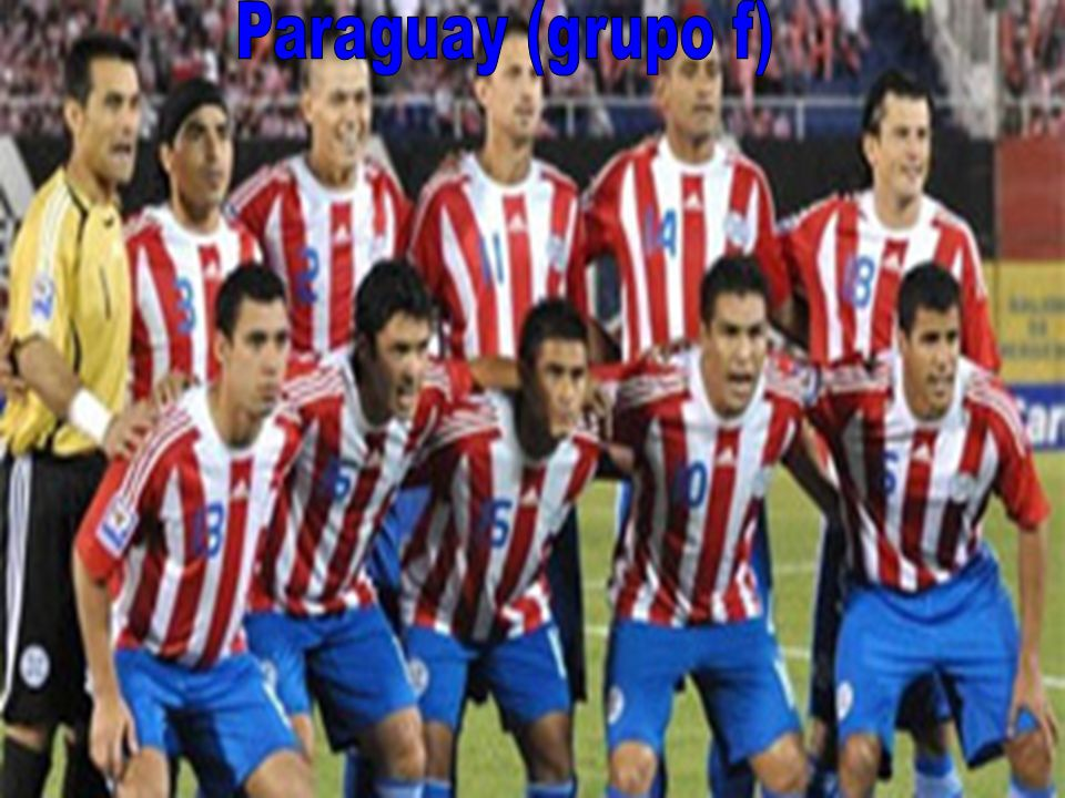 Paraguay (grupo f)