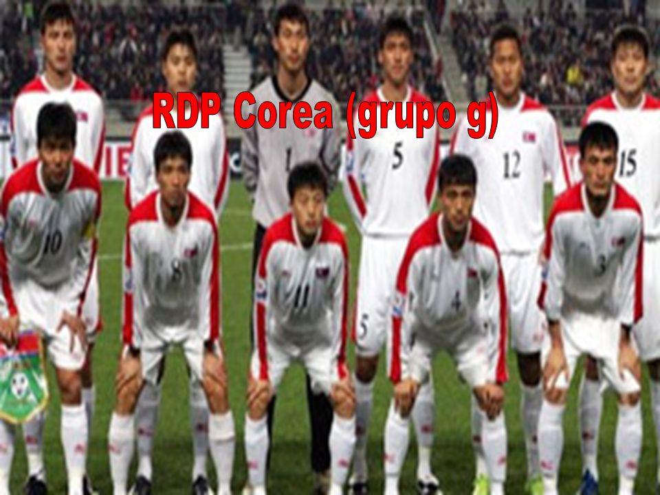 RDP Corea (grupo g)