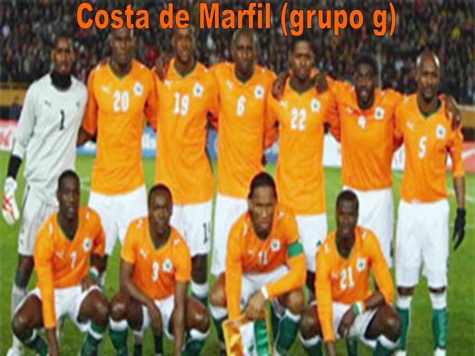 Costa de Marfil (grupo g)