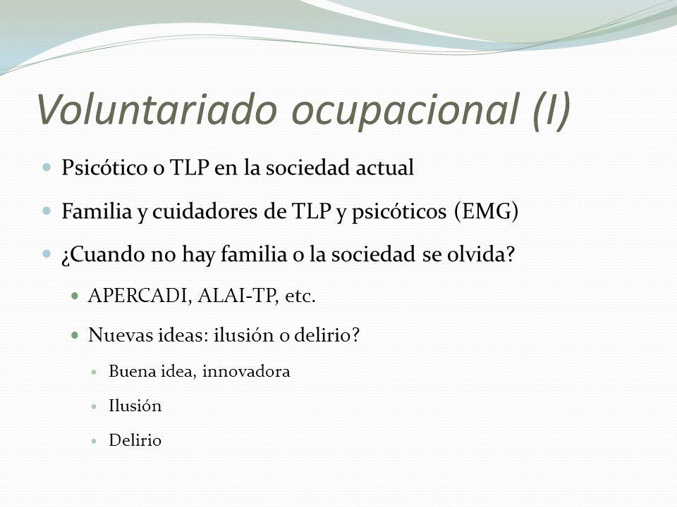 Voluntariado ocupacional (I)