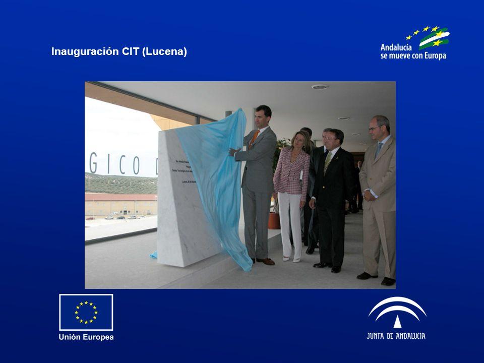 Inauguración CIT (Lucena)