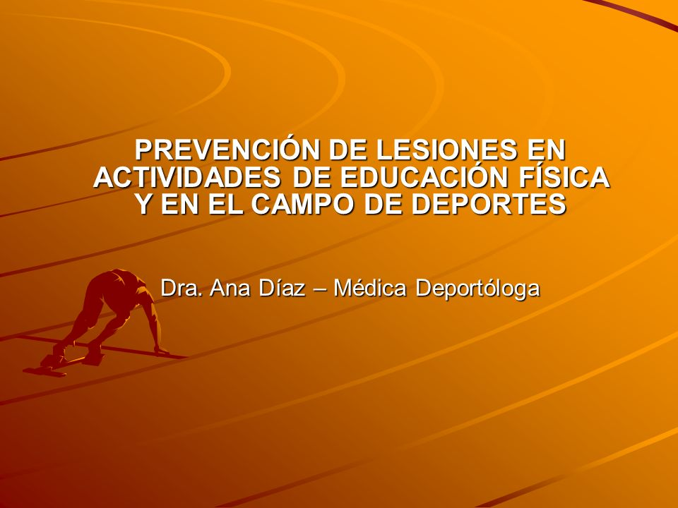 Dra. Ana Díaz – Médica Deportóloga