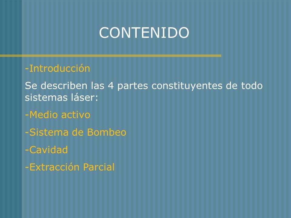CONTENIDO -Introducción