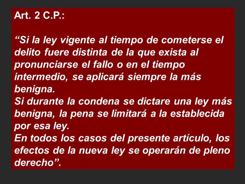 Art. 2 C.P.: