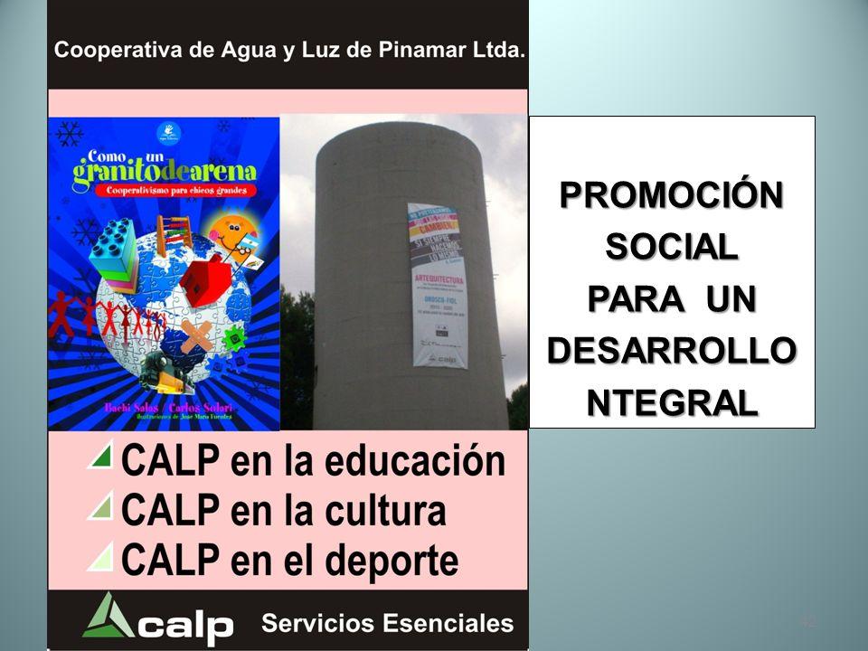 PROMOCIÓN SOCIAL PARA UN DESARROLLO NTEGRAL