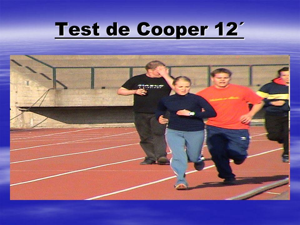 Test de Cooper 12´
