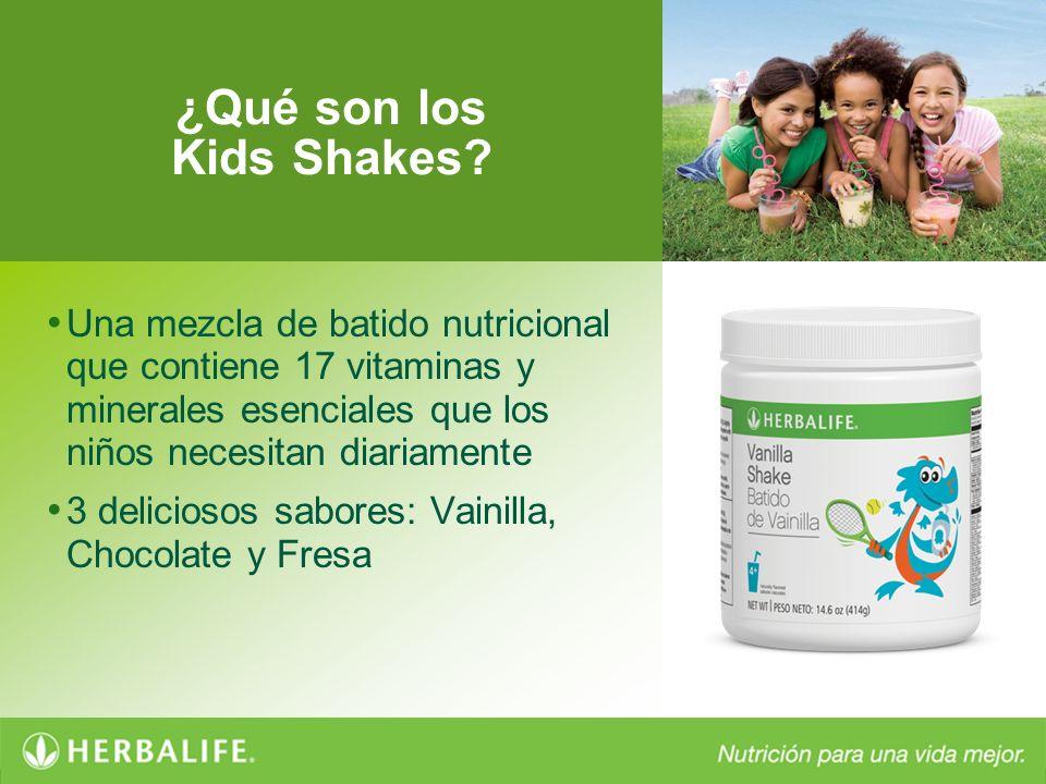 ¿Qué son los Kids Shakes