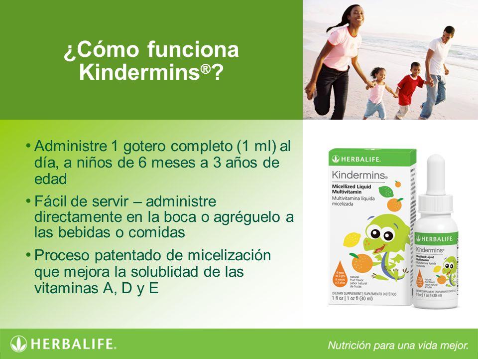 ¿Cómo funciona Kindermins®