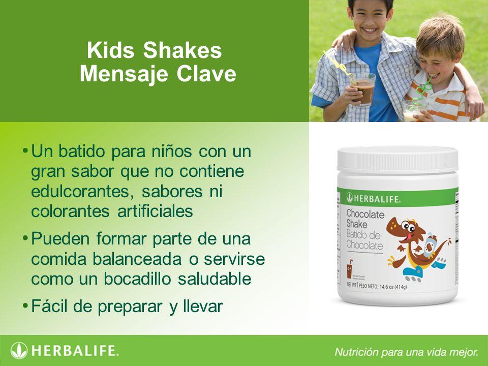 Kids Shakes Mensaje Clave