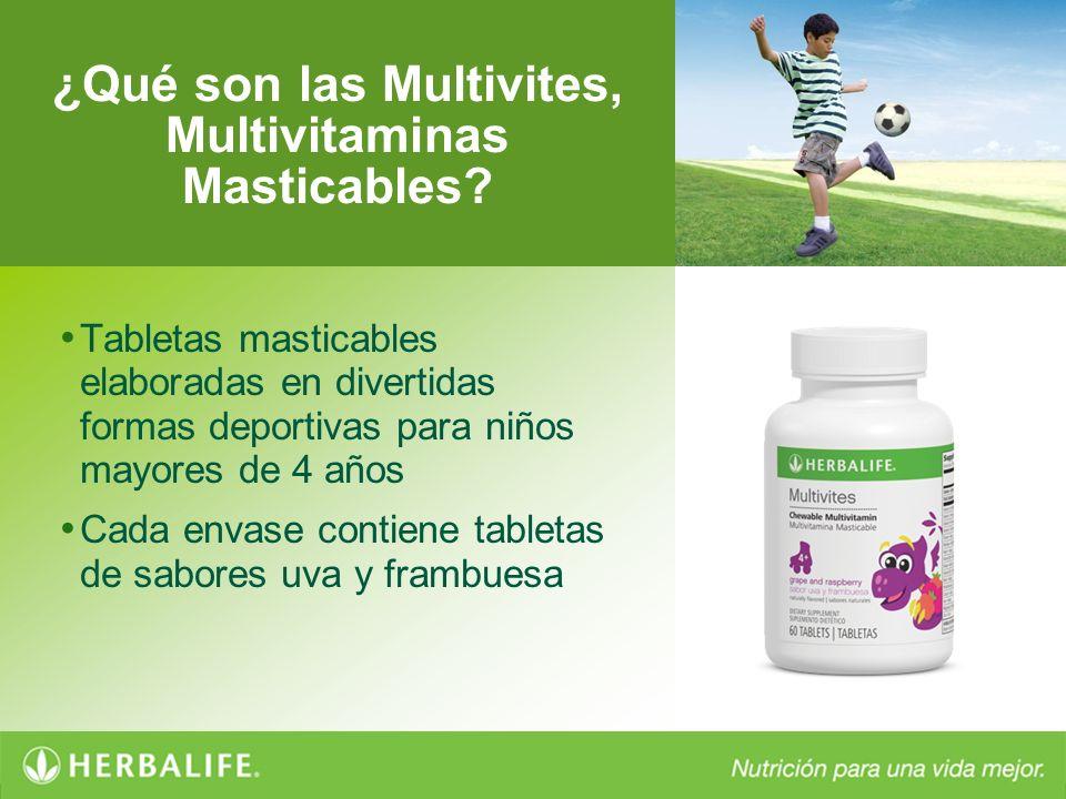 ¿Qué son las Multivites, Multivitaminas Masticables