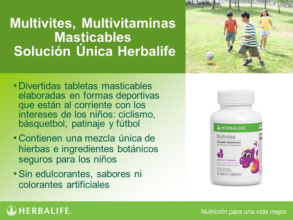 Multivites, Multivitaminas Masticables Solución Única Herbalife