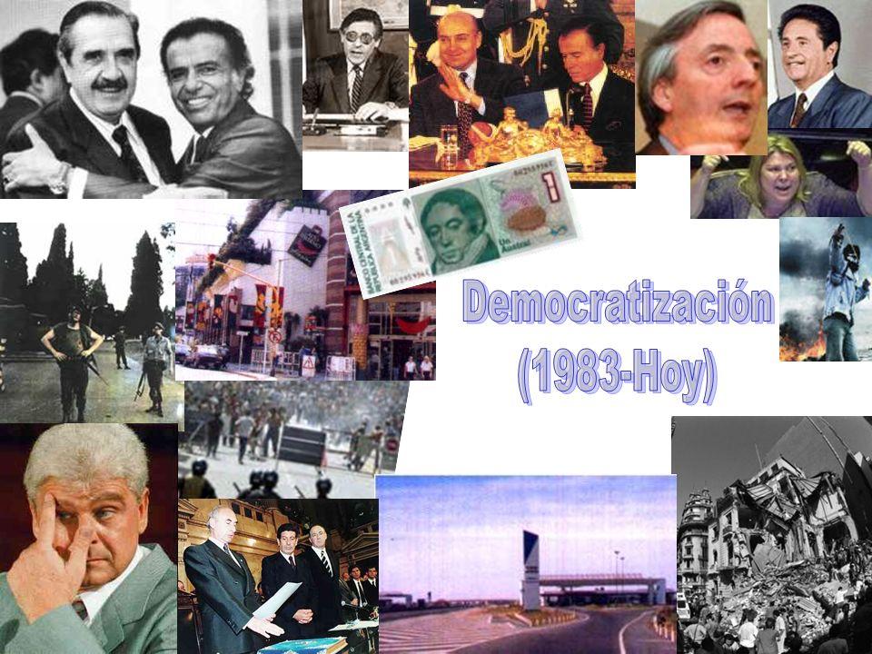 Democratización (1983-Hoy)