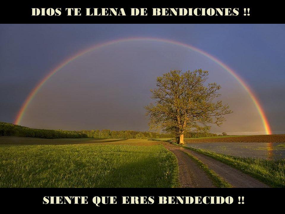DIOS TE LLENA DE BENDICIONES !!