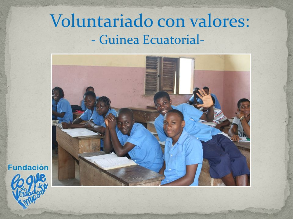 Voluntariado con valores: