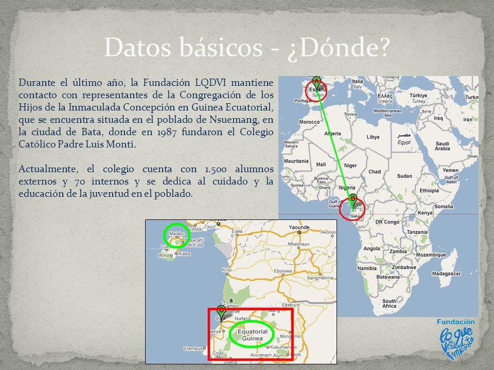 Datos básicos - ¿Dónde