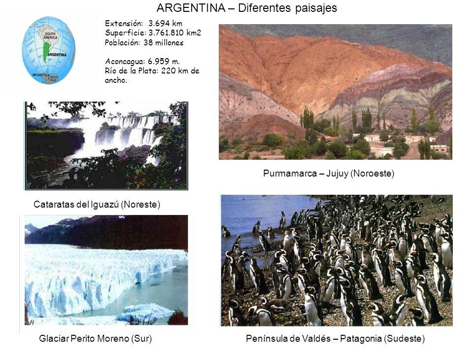 ARGENTINA – Diferentes paisajes
