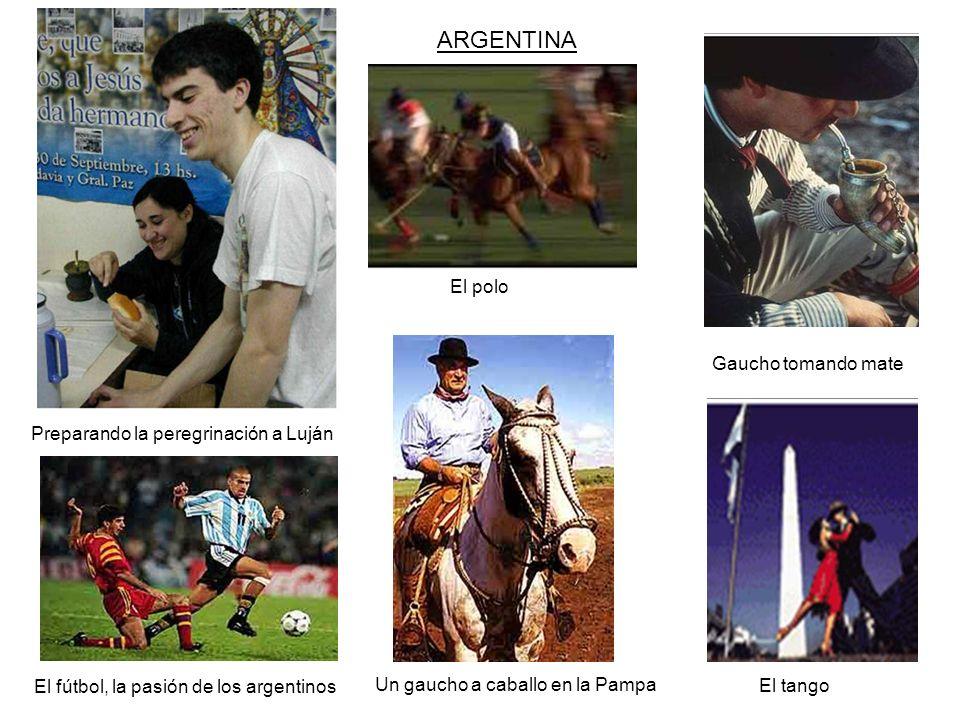 ARGENTINA El polo Gaucho tomando mate