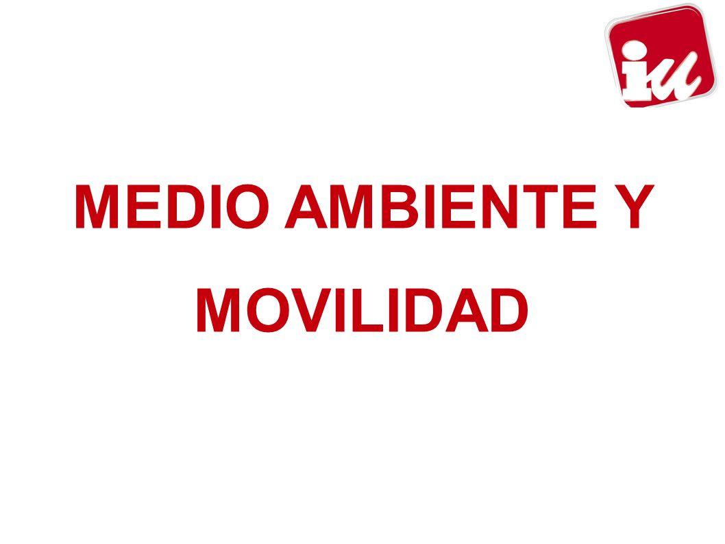 MEDIO AMBIENTE Y MOVILIDAD