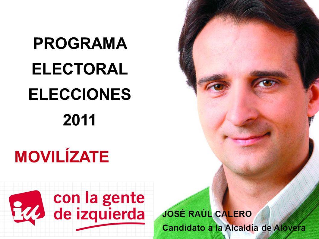 PROGRAMA ELECTORAL ELECCIONES 2011