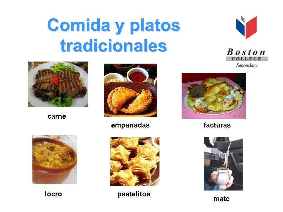 Comida y platos tradicionales