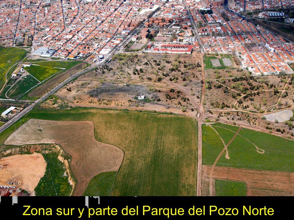 Zona sur y parte del Parque del Pozo Norte