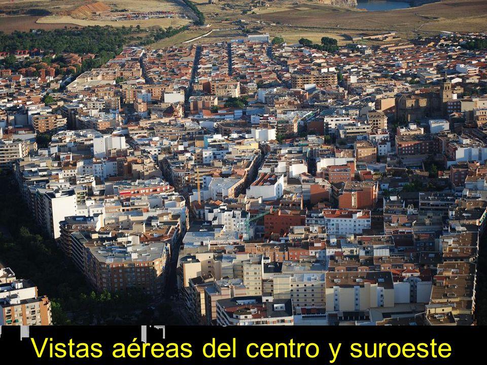 Vistas aéreas del centro y suroeste